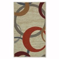 Mohawk Home Soho Picturale 1-Foot 6-Inch x 2-Foot 6-Inch Accent Rug in Rainbow