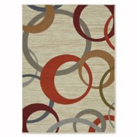 Mohawk Home Soho Picturale 5-Foot x 7-Foot Area Rug in Rainbow