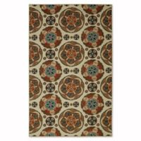 Mohawk Home Soho Spice Suzani 5-Foot x 7-Foot Multicolor Area Rug