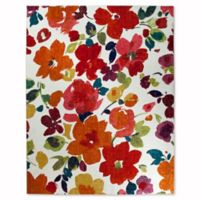 Mohawk Home Strata Bright Floral Toss 5-Foot x 8-Foot Multicolor Area Rug