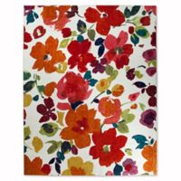 Mohawk Home Strata Bright Floral Toss 7-Foot 6-Inch x 10-Foot Multicolor Area Rug