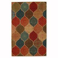 Mohawk Home Soho Riza Tile Fret 7_Foot 6-Inch x 10-Foot Multicolor Area Rug