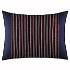 ED Ellen DeGeneres Levitt Stripe Oblong Throw Pillow in Navy