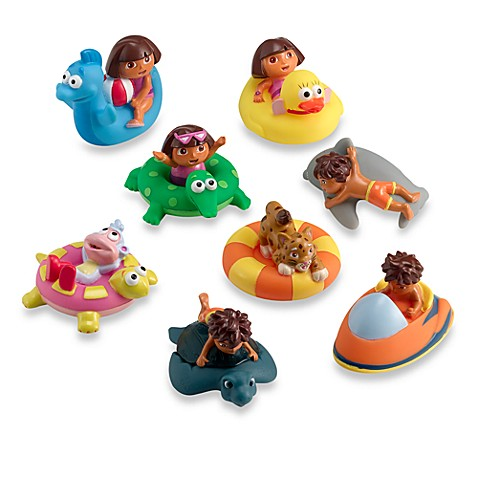 Munchkin® Dora and Diego Bath Squirters - Bed Bath & Beyond