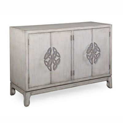 Bassett Mirror Dewitt Accent Cabinet In Off White