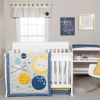Trend Lab® Galaxy 4-Piece Crib Bedding Set in Blue/Yellow