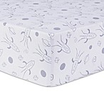 Trend Lab® Galaxy Fitted Crib Sheet in Grey