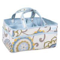 Waverly® Baby by Trend Lab® Pom Pom Spa Diaper Caddy in Blue/Green