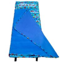 Olive Kids Trains Easy Clean Nap Mat in Blue