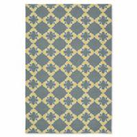 Kaleen Escape Tiles 9-Foot x 12-Foot Indoor/Outdoor Area Rug in Grey