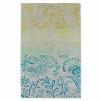 Kaleen Divine Floral 9-Foot 6-Inch x 13-Foot Area Rug in Breeze