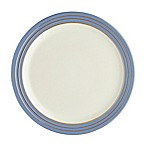 Denby Heritage Fountain Dinner Plate in Blue