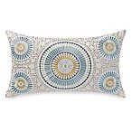 Sunshine Medallion Oblong Throw Pillow in Green