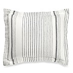 Wamsutta® Collection Monaco Standard Pillow Sham in Slate/White