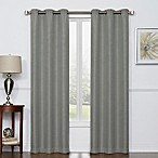 Camryn 84-Inch Room Darkening Grommet Top Window Curtain Panel Pair in Grey