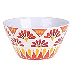 Gypsy Grapefruit Melamine Textured Cereal Bowl
