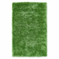 Kaleen Posh Posh 9-Foot x 12-Foot Shag Area Rug in Lime