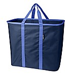 SnapBasket XL Collapsible Laundry Tote/Carryall in Blue