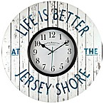 FirsTime®  Life is Better at the Jersey Shore  Wall Clock