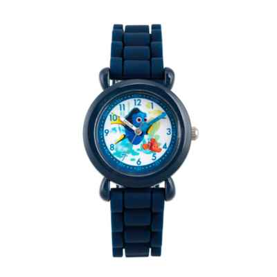 Disney® Finding Dory Children's Time Teacher Watch in Blue Plastic with Blue Silicone Strap