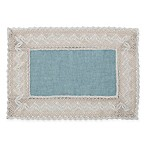 Crochet Lace 13-Inch x 19-Inch Placemat in Blue