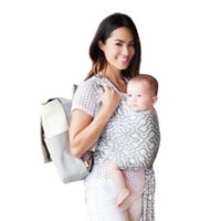 Moby® Wrap Mazes of Milano Baby Carrier in Stone Grey