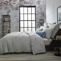 Kenneth Cole New York Escape Twin Reversible Duvet Cover in Blue