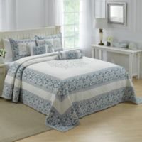 Nostalgia Home® Natalie Twin Bedspread in Ivory/Blue