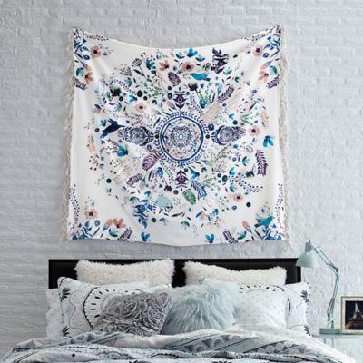 dreamcatcher tapestry throw blanket - bed bath & beyond