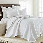 Levtex Home Sasha King Quilt in White