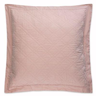 levtex home sasha european pillow sham in blush