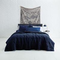 Jude Grid Twin/Twin XL Quilt Set in Blue