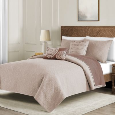 Buy Blush Quilts From Bed Bath Beyond