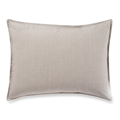 Kenneth Cole New York Escape Pinstriped Pillow Sham Bed
