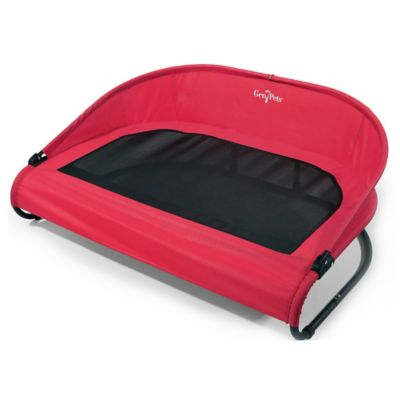 gen7pets cool air cot large pet bed in red - Inflatable Bed With Frame