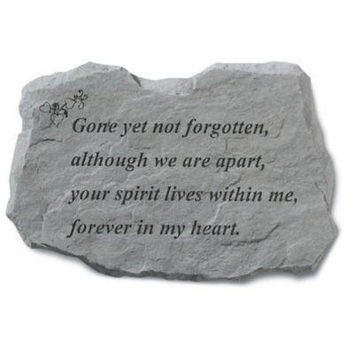 Buy memorial garden stones from bed bath beyond gone yet not forgotten memorial stone workwithnaturefo