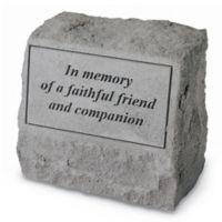 In Memory Memorial Headstone