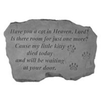 """Have You a Cat in Heaven"" Memorial Stone"