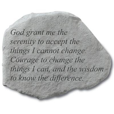 Buy memorial garden stones from bed bath beyond grant me serenity memorial stone workwithnaturefo