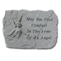 """""""May You Find Comfort"""" Memorial Stone"""