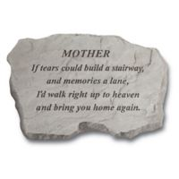 """Mother, If Tears"" Memorial Stone"