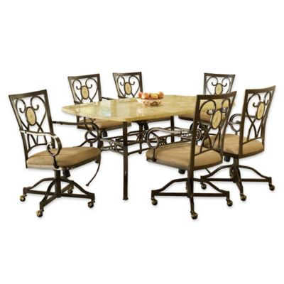 Buy Hillsdale Furniture Brookside 5 Piece Rectangle Dining Set With Oval Back