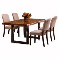 Hillsdale Emerson 5-Piece Rectangle Dining Set in Natural