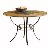 Hillsdale Lakeview Round Table in Medium Oak