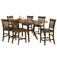 Hillsdale Furniture Arbor Hill 7-Piece Counter Height Dining Set