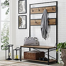 Forest Gate Industrial Hall Tree Bed Bath Amp Beyond