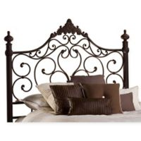 Hillsdale Baremore Queen Headboard with Rails in Antique Brown