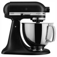 KitchenAid® Artisan® 5 qt. Stand Mixer in Matte Black