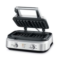 Breville® Smart Waffle™ 2-Slice Waffle Maker in Stainless Steel