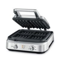 Breville® Smart Waffle™ 4-Slice Waffle Maker in Stainless Steel